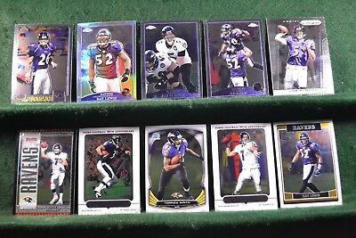 Lot of 20 Baltimore Ravens w/ Jamal Lewis, Rod Woodson, Ray Lewis Inv#N030