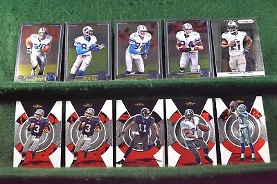 Lot of 20 Detroit Lions w/ Barry Sanders, Charlie Batch, Kevin Jones Inv#N039