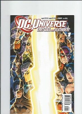 DC Comics DC Universe Last Will and Testament Cover A NM-/M 2008