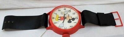 RARE Mickey Mouse Wrist Watch Wall Clock- Welby By Elgin