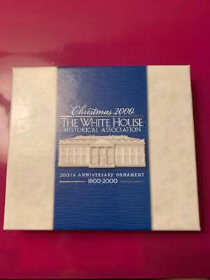 The White House Historical Association Christmas Ornament Dated 2000 Anniversary