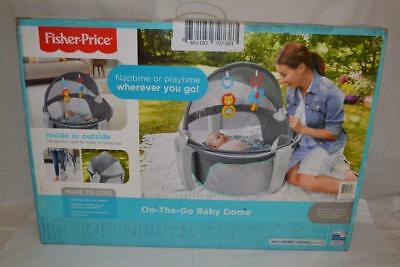 Fisher Price FBL72-0952 On-the-Go Baby Dome - Bubbles   New!
