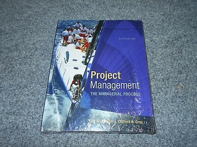 Mcgraw Hill Project Management Managerial Process 6Th Ed - Larson Gray Textbook