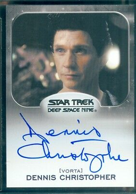 Star Trek Aliens 2014  Dennis Christopher as Borath  Autograph  Card