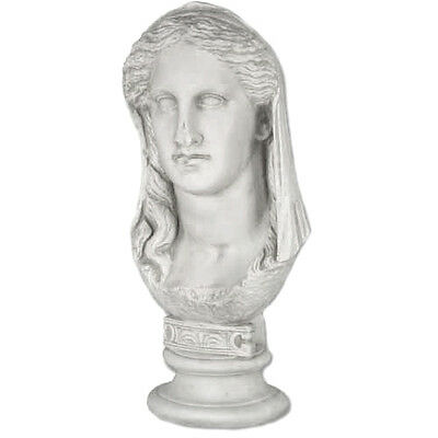 "Roman Empress Noble bust 19"" Museum Sculpture Replica Reproduction"