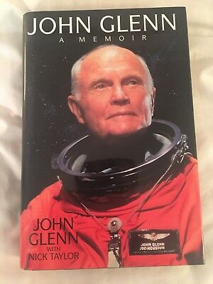 "John Glenn (and wife!) signed autobiography ""A Memoir"" - mint, never read!"