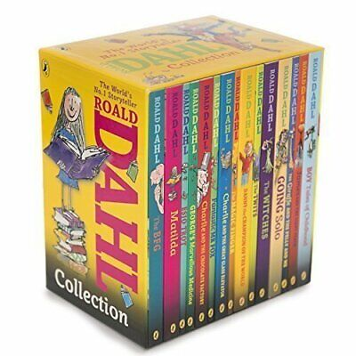 Roald Dahl Phizz Whizzing Collection 15 copy new look (Yellow) by Dahl, Roald