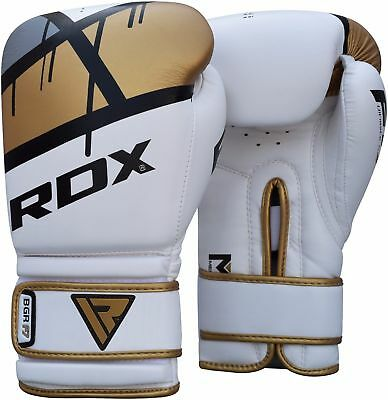 RDX MMA Boxing Gloves Training Punch Bag Pads Muay Thai Fight Wraps Sparring