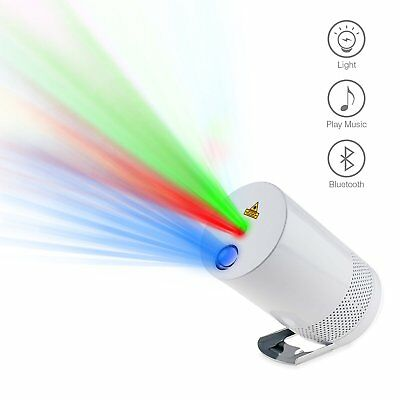 Portable RGB Laser Light Projector Bluetooth Speaker Stage Party Lighting Show