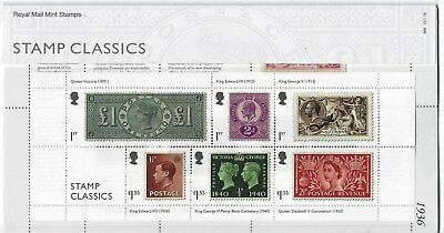 Great Britain 2019 Stamp Classics Miniature Sheet Presentation  Pack  Mint, Mnh