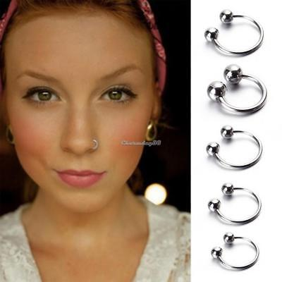 Surgical Steel Bar Lip Nose Body Piercing Ear Ring Stud 1PC C1MY 01