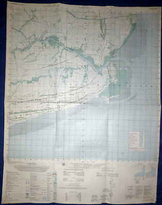 6227 iv - MAP - 1967 RIVER OPS - US NAVY SEALs - BAC LIEU, BA XUYEN, VIETNAM WAR