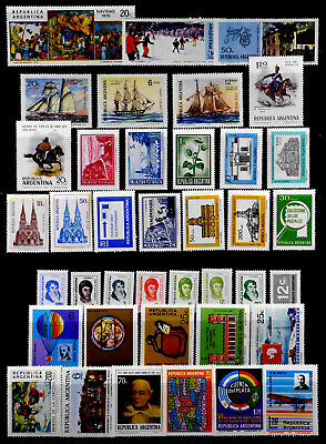 Argentina: 1970's Mint Never Hinged Stamp Collection