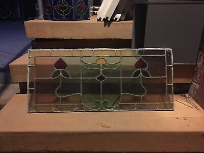 Set of 3 Stainglass Windows (two small and one large)