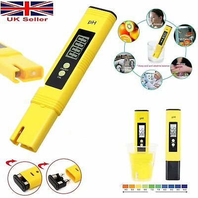 High Quality Digital Electric TDS/PH Meter Tester Hydroponics Water Test Pen UK