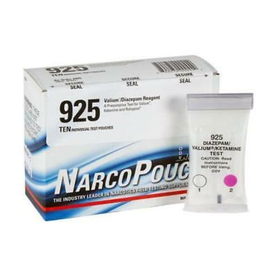 Armor Forensics 925 Lavender Color NarcoPouch Valium & Diazepam Reagent BOX-10