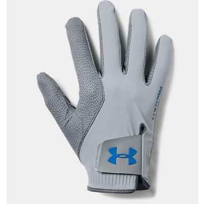 Under Armour Golf 2019 Storm Rain Gloves (Men's Pair in Steel)