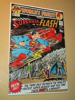 World's Finest Presents Superman and the Flash #198 Nov 1970 DC Comics