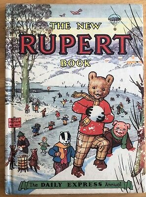 RUPERT BEAR ANNUAL 1951 NOT Inscribed NOT Price Clipped Very FINE Scarce Thus