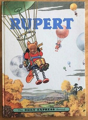 RUPERT BEAR ANNUAL 1957 NOT Inscribed NOT Price Clipped Very FINE Scarce Thus