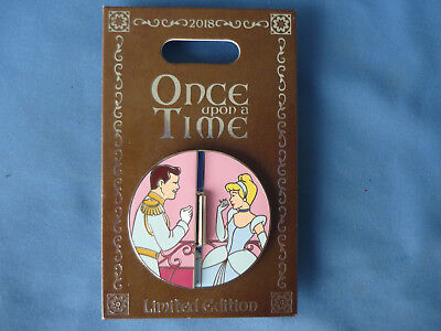CINDERELLA PRINCE   Disney Pin ONCE UPON A TIME Limited E Disneyland 2018 NEW