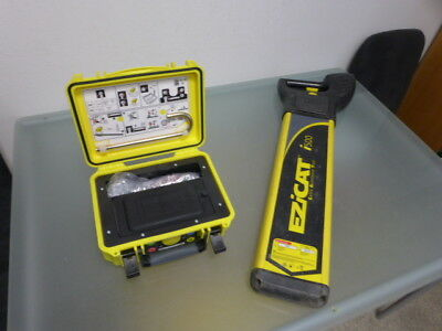 eziCat (Digicat) i500 with eziTex T100 genny cable/pipe locator ready2use