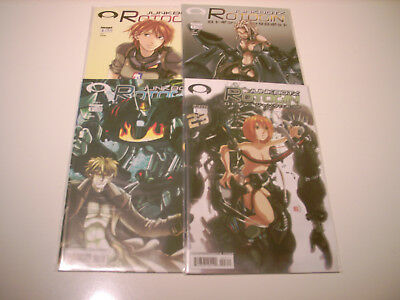 Rotogin : Junkbotz : Issue  #0-3 (Cover A Set)