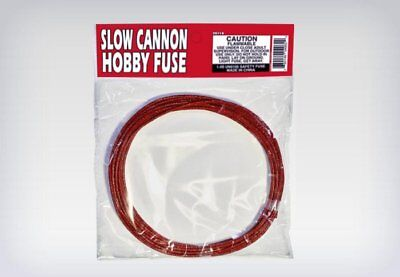 UNDERWATER FUSE SLOW CANNON 3.5mm hobby safety fuse 29s/ft package label