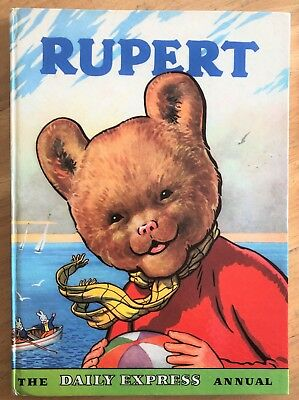 RUPERT BEAR ANNUAL 1959 NOT Inscribed NOT Price Clipped FINE & Scarce thus!