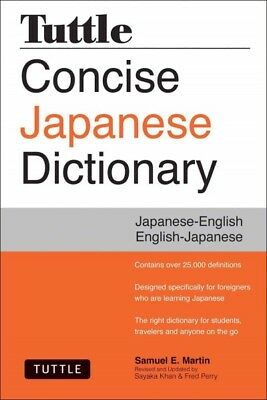 Tuttle Concise Japanese Dictionary, Samuel E. Martin