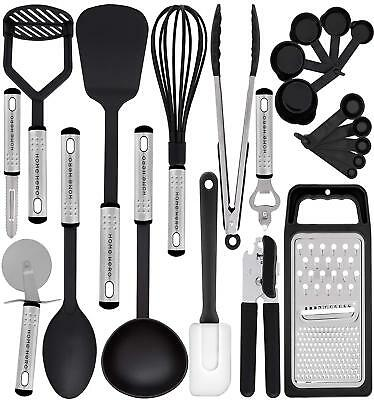 23 Nylon Kitchen Cooking Utensil Gadgets Cookware Set Non-Stick Cooking Tools
