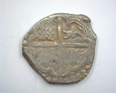 Bolivia Pre-1631 Silver 4 Reales -Porta Bello Hoard- Choice Extremely Fine