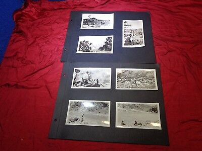 Vintage Lot of Yellowstone National Park, 1930s Snapshot Photographs #6