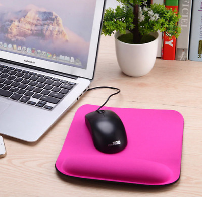 Best 2019 Comfort Wrist Square Gaming Mouse Pad Mat for Laptop Computer Tablet P