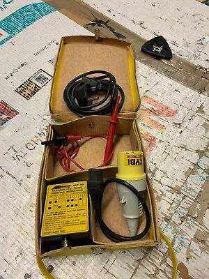 Metrotest  Next 604 Extension Lead Tester PAT Electrical Safety Checker,110/240v