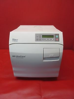 Ritter Midmark  Model M9-022 Autoclave Automatic Sterilizer  *Tested Working*