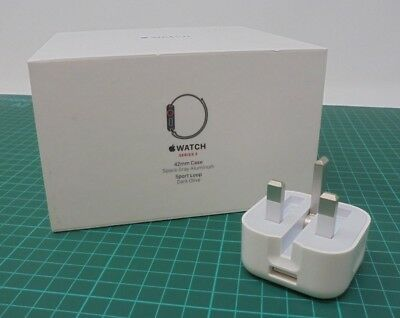 Genuine Official Apple 5W USB Power Adapter Charger Plug - Folding Pins - GHW