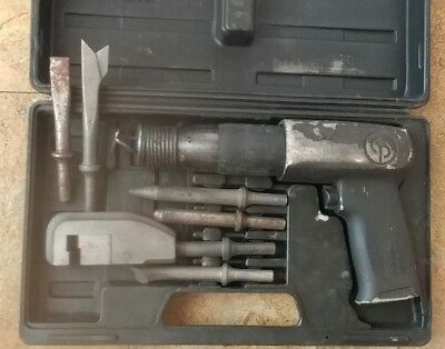Chicago Pneumatic CP715K Most power Heavy Duty Zip Gun Hammer with 4+ Chisels