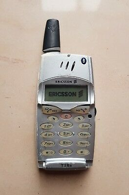 Ericsson T28s - Silver (Unlocked) Cellular Phone VERY RARE COLLECTIBLE RRR