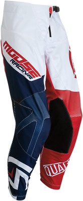 Moose Racing Qualifier Youth Pants - Red/White/Blue - Size 24