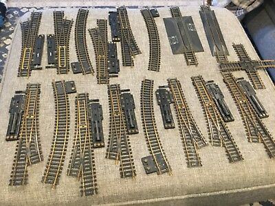 Huge 🚞 Wholesale lot of HO Scale Train Track Switches,Model Railroad.