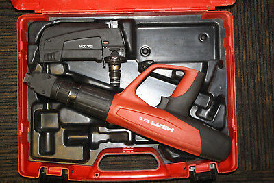 Hilti DX 5 Fully Automatic Powder Actuated Fastening Tool Kit w/MX72 Attachment