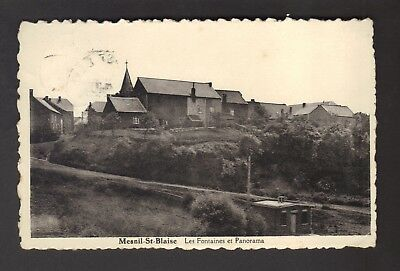 MESNIL-ST-BLAISE - Les Fontaines et Panorama (1950)
