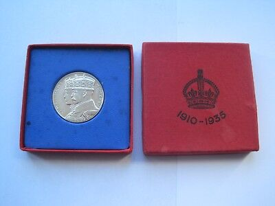 King George V Silver Jubilee Medal / Coin 1910-1935,solid Silver,mint Condition