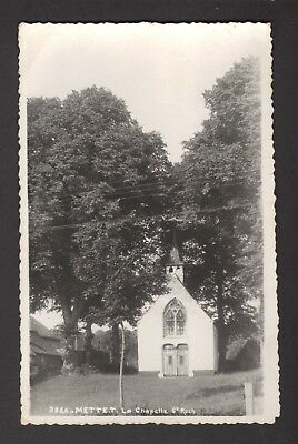 METTET - La Chapelle St Roch (1954) - Carte-photo