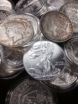 20 Mixed 90% Silver Half Dollars