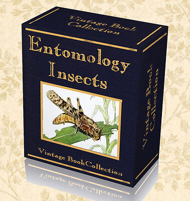 300 Rare Entomology Books 2 DVDs - Zoology Moths Butterflies Insects Beetles 239