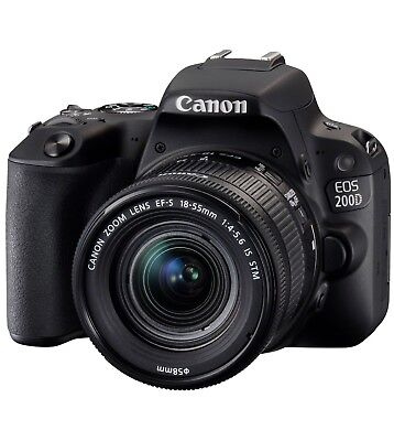 Canon EOS 200D Kit incl. EF-S 18-55mm F/4-5,6 IS STM