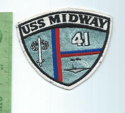US Navy USN  USS Midway CV 41 Carrier    patch