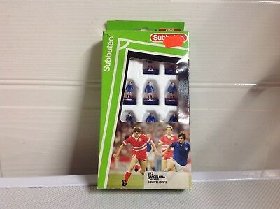 Subbuteo LW Team Ref 472: Barcelona Chaves Scunthopre Vintage Retro Table Soccer